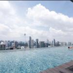 クアラルンプールのAirbnbのプール