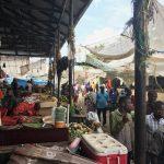 キガンボーニの市場